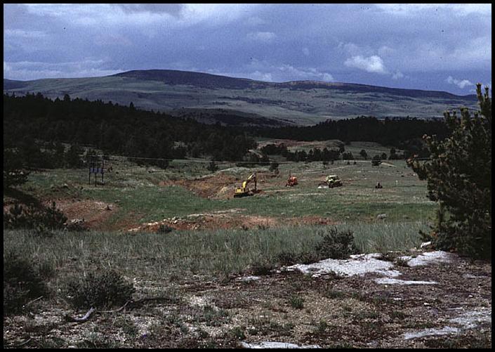 Yogo Gulch, Montana, Sapphire Mine